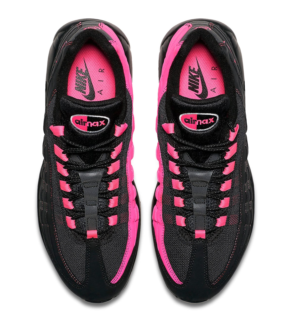 Nike Air Max 95 Gets Split in Black and
