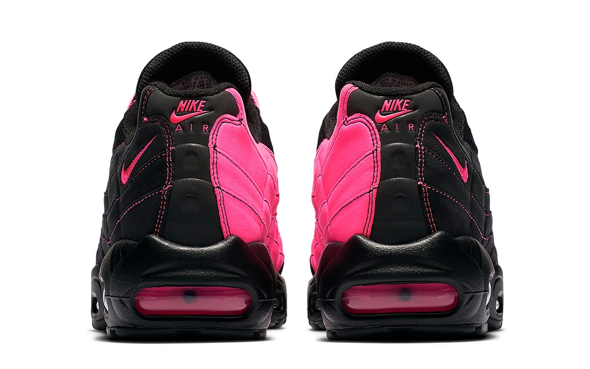 Nike Air Max 95 Gets Split In Black And Pink House Of Heat