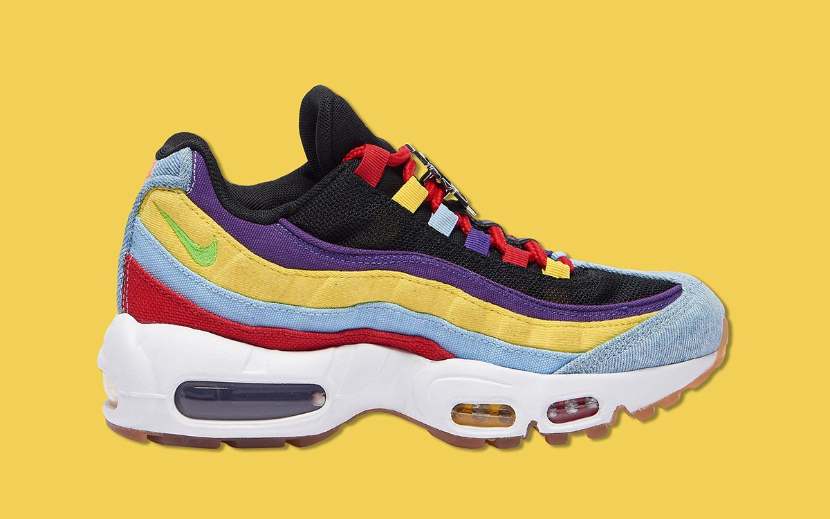 Nike Get Crazy Colorful On The Air Max 95 House Of Heat