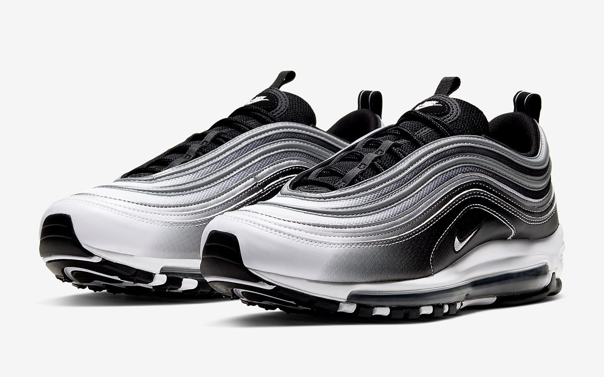 Available Now Air Max 97 Black White Gradient House Of Heat
