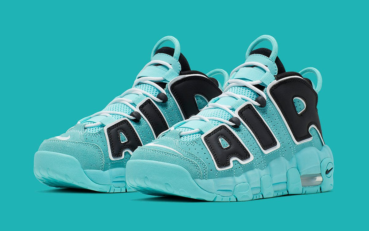 The Nike Air More Uptempo Lands in