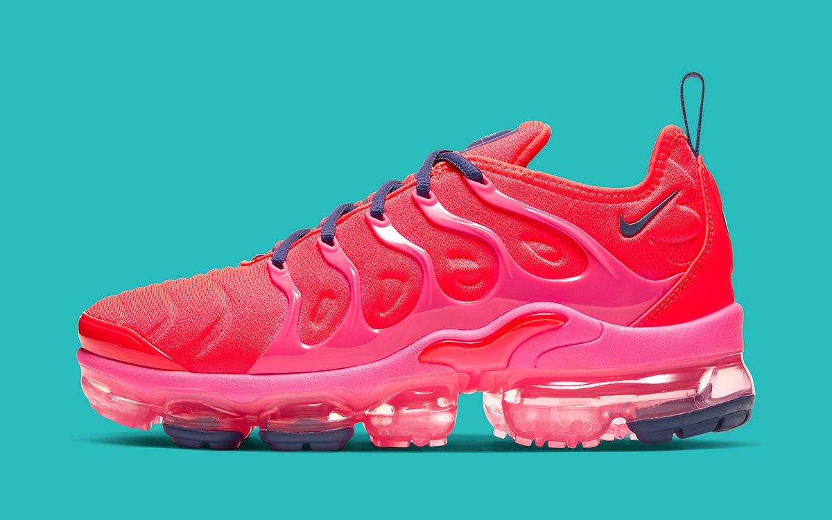 get new detailed look hot product Nike's Air VaporMax Plus Goes Rogue this Fall with Vibrant ...