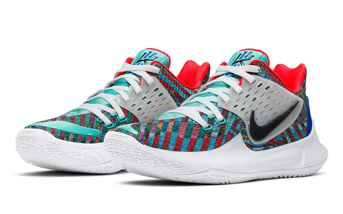 """Kyrie Low 2 """"Multi-Color"""" Kicks Off the"""