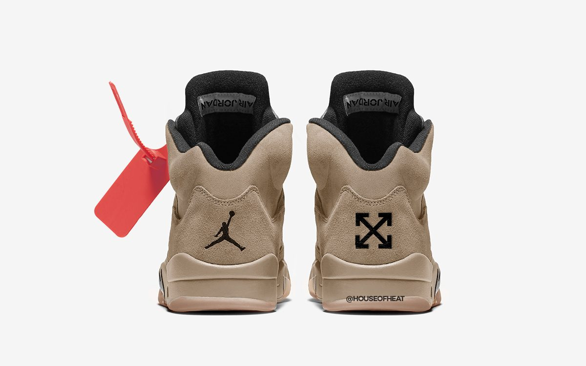 OFF-WHITE x Air Jordan 5 Tipped to Headline All-Star Weekend in Chicago
