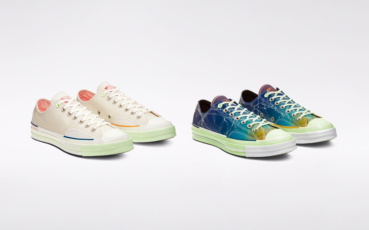 Pigalle Encourages Movement Through Music and Sport with Two Converse Chuck 70 Lows