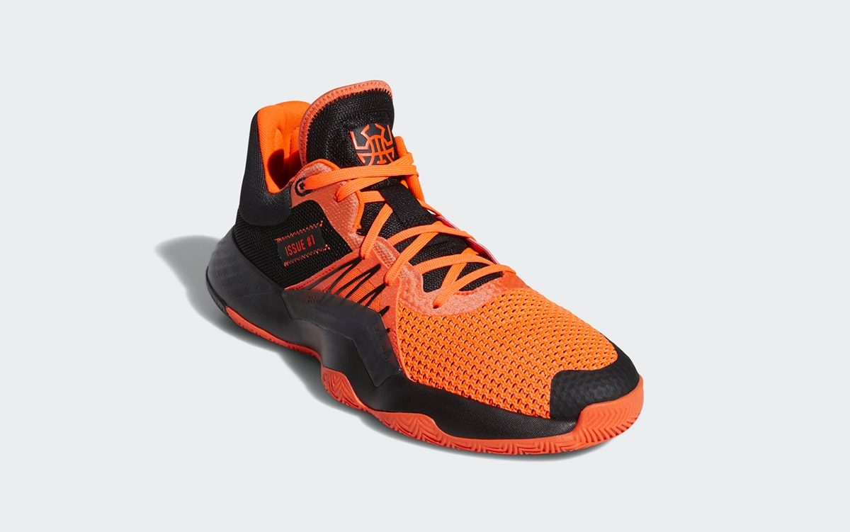 adidas' Orange and Black D.O.N. Issue 1 Finally Releases on Feb. 28th