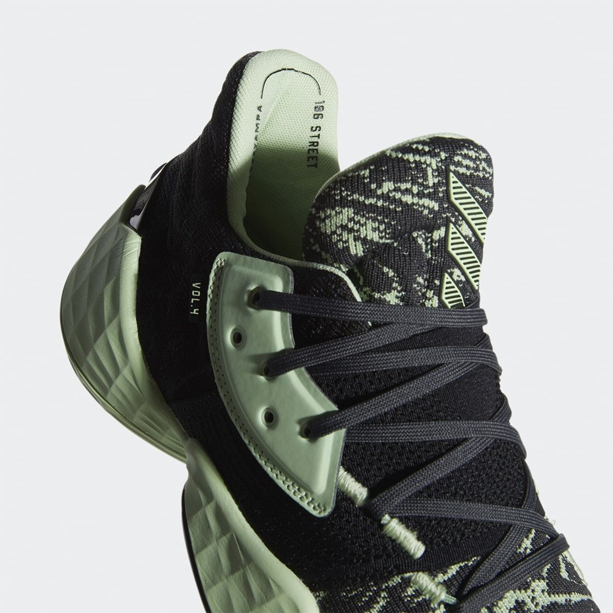 adidas Harden Vol. 4 Gets a Green Glow Flow this October