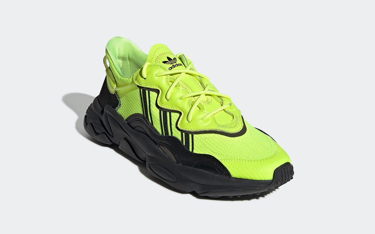 "adidas Ozweego ""Solar Yellow"" Sliding Your Way Soon?"