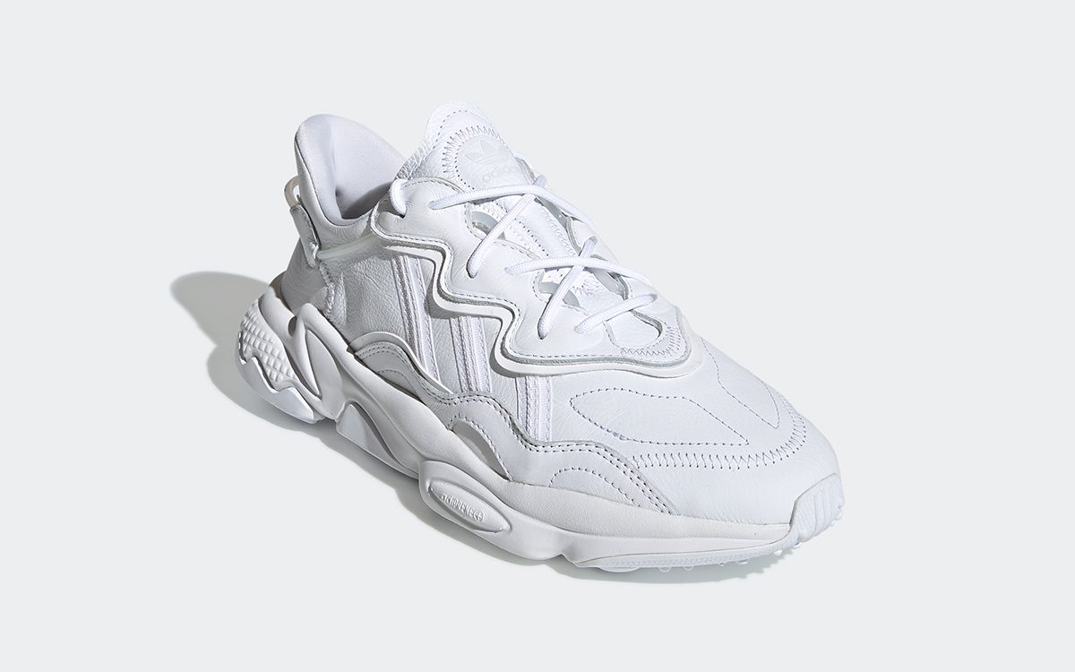 Available Now // adidas Ozweego Arrives in Triple White
