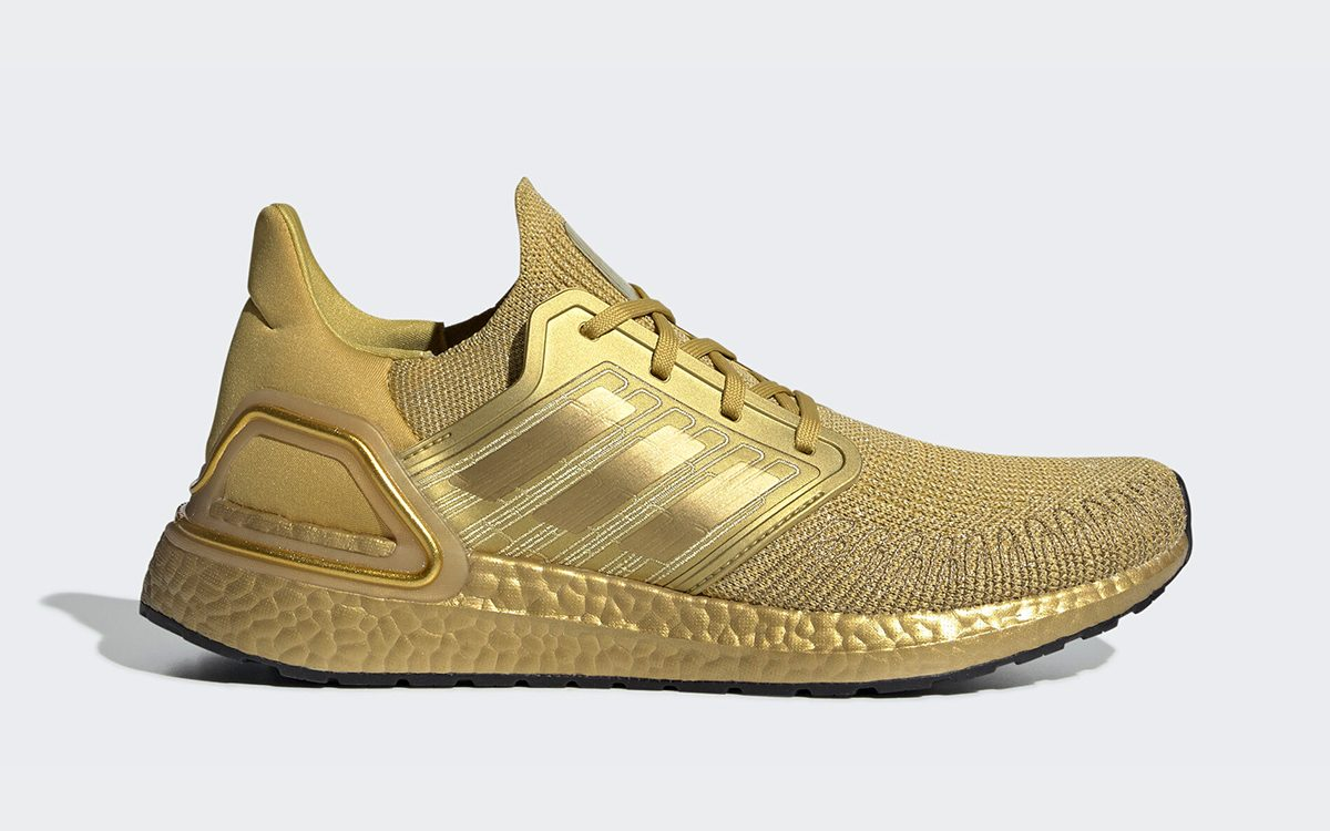 adidas Ultra BOOST 2020 Appears in All-Metallic Gold