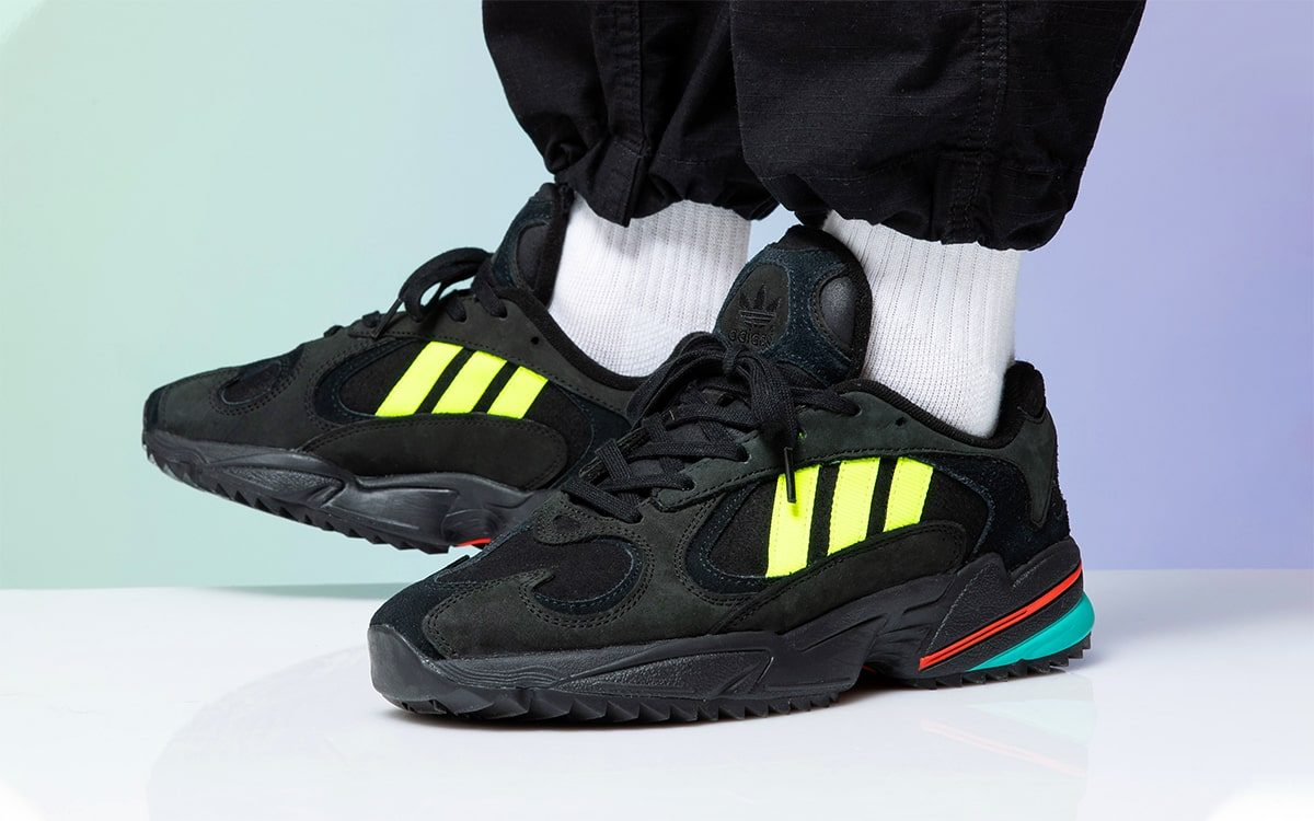 Available Now // The adidas YUNG-1 Trail Takes on a Totally-90s Colorway