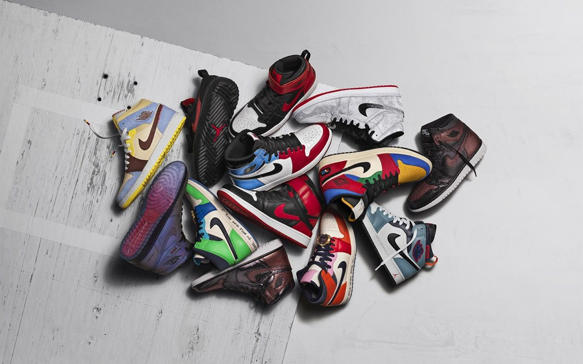 Jordan Brand Unveil the Air Jordan 1 Fearless Ones Collection