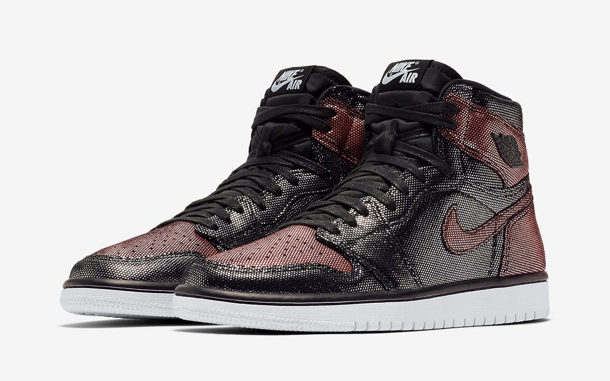 "Official Looks at the Metallic ""Fearless"" Air Jordan 1 High OG"
