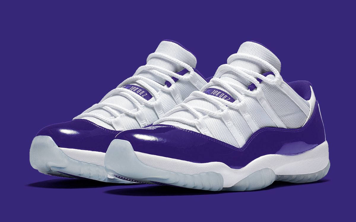 "Air Jordan 11 Low ""Concord"" Set for Spring 2020"