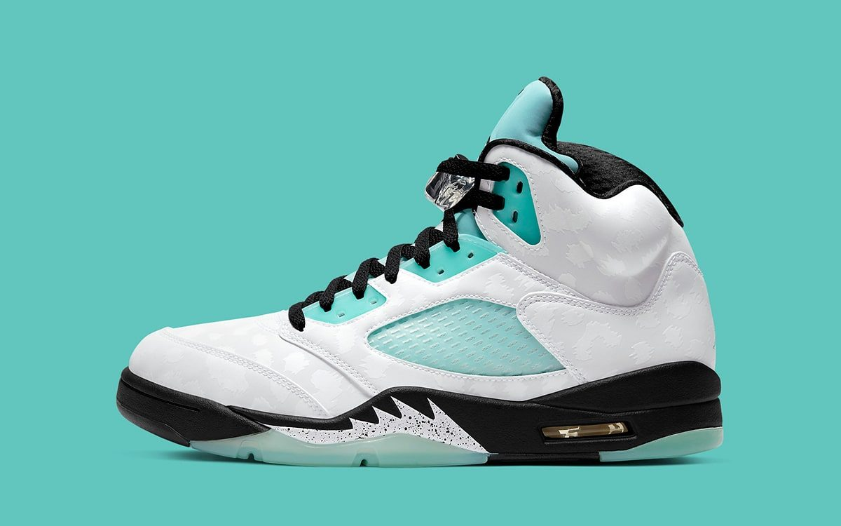 "Air Jordan 5 ""Island Green"" Arrives Next Month"