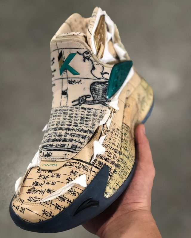 """ANTA KT5 """"Herb Book"""" Honors Klay Thompson's Love for """"Herbs"""""""