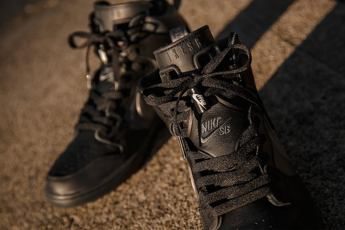 Detailed Looks at the FORTY PERCENT AGAINST RIGHTS x Nike SB Dunk High