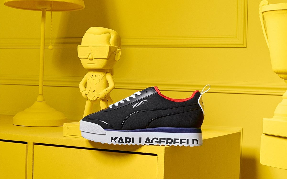 PUMA Link Up with the Late Karl Lagerfeld for Fall/Winter '19