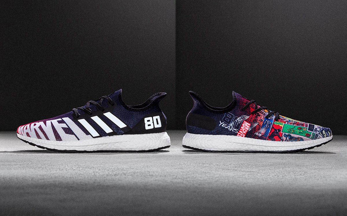 Available Now // adidas AM4 x Marvel 80th Anniversary