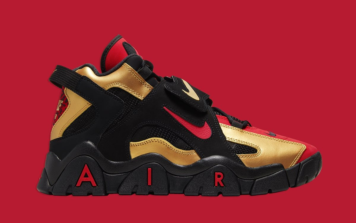 Now // Nike Air Barrage Mid \