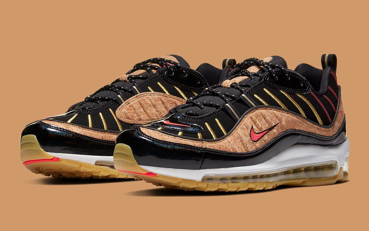 Available Now Nike Chalk Up a Cork Air Max 98 to Ring In