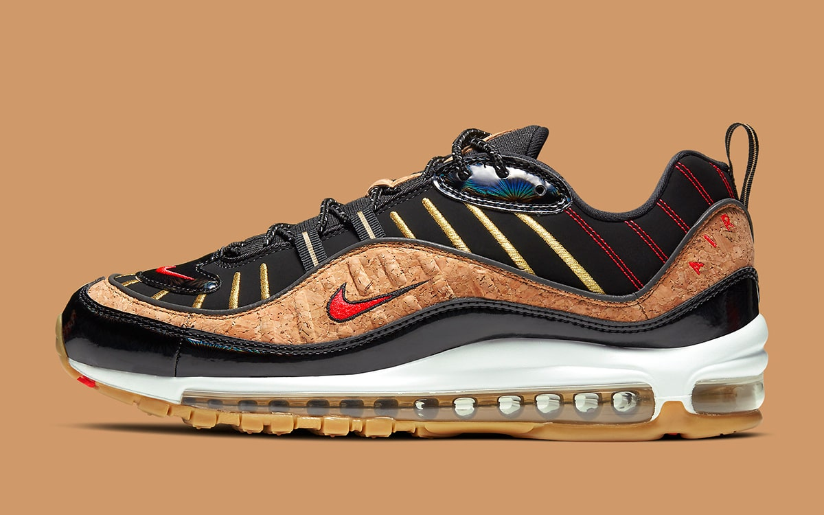 Air Max 98 'New Year' Nike CT1173 001 | GOAT