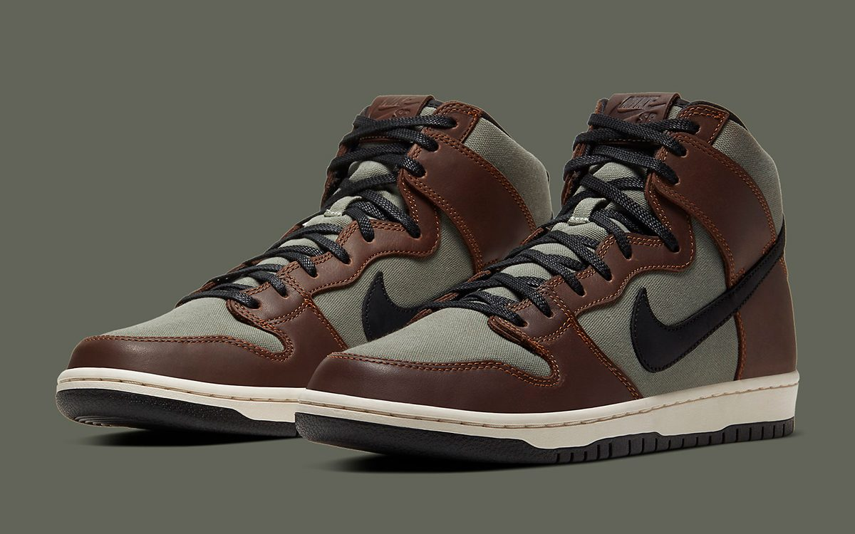 "Available Now // Nike SB Dunk High Pro ""Baroque Brown"""