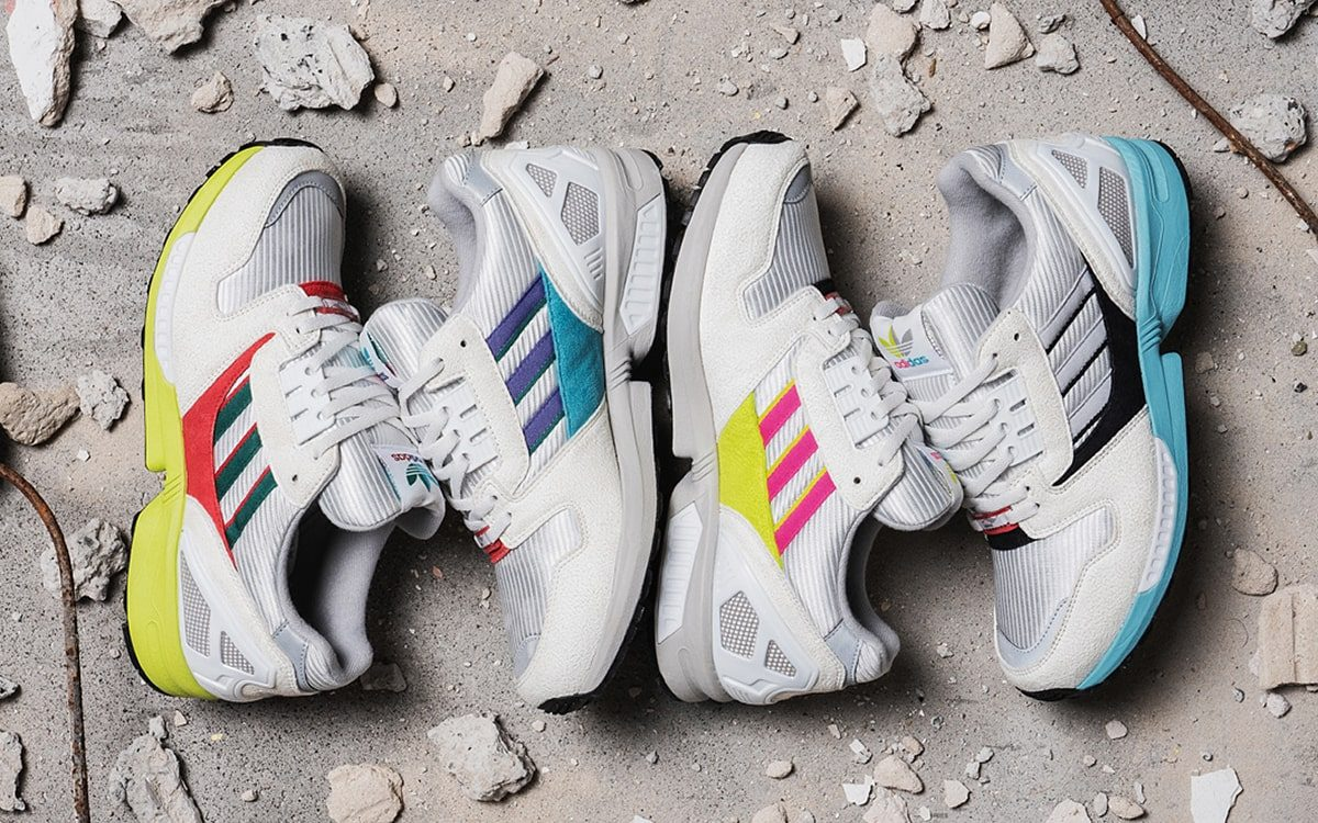 """Overkill Unveil Mix-and-Match adidas ZX8000 """"No Walls Needed""""Pack for Berlin Wall-Fall's 30th Anniversary"""