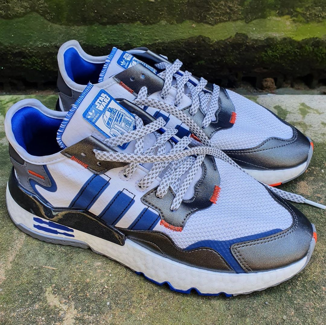 "First Looks // Star Wars x adidas Nite Jogger ""R2-D2"""