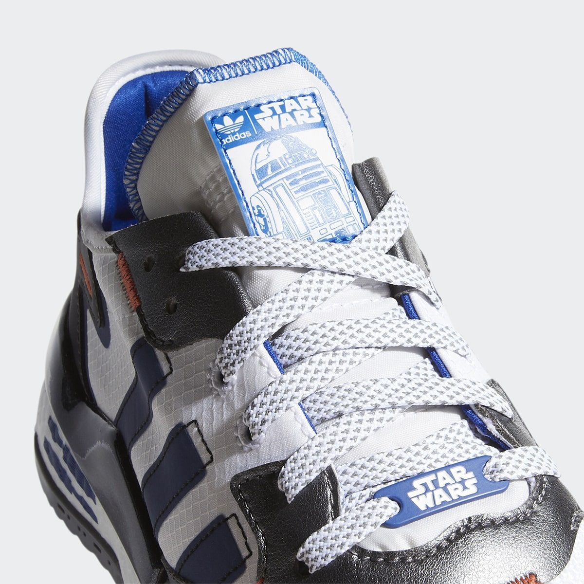 "Official Looks at the Star Wars x adidas Nite Jogger ""R2-D2"""