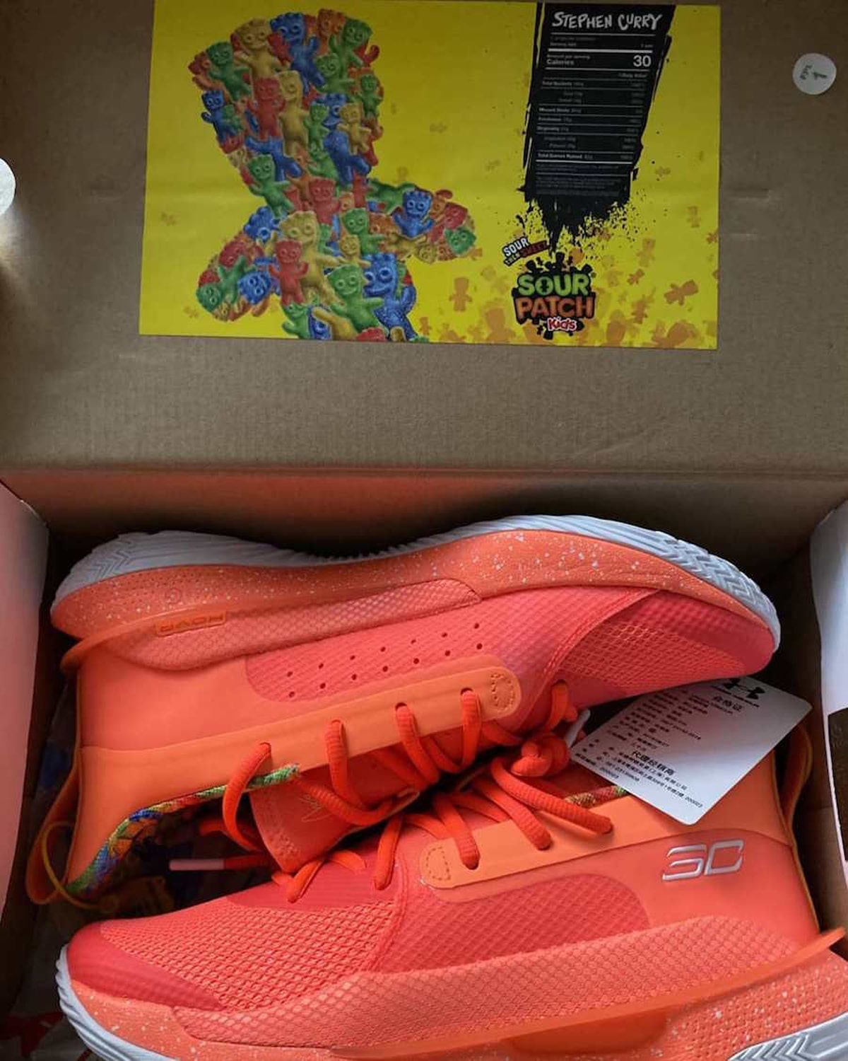 Ua Curry 7 Quot Sour Patch Kids Quot Series Of Sneakers Surface