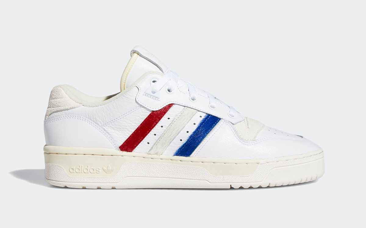 Available Now // adidas Rivalry Low Pops With Pony Hair Tricolore Panels