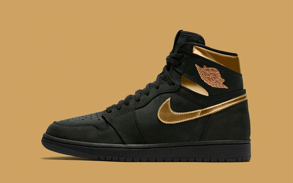 "Air Jordan 1 High ""Black/Metallic Gold"" Hinted for Holiday Release"