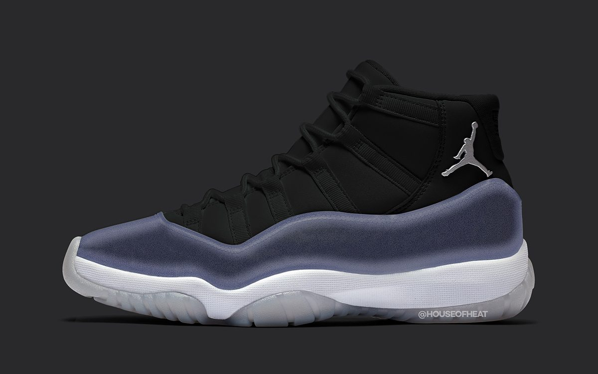 "Air Jordan 11 ""Clear"" Tipped for Holiday 2020 Release"