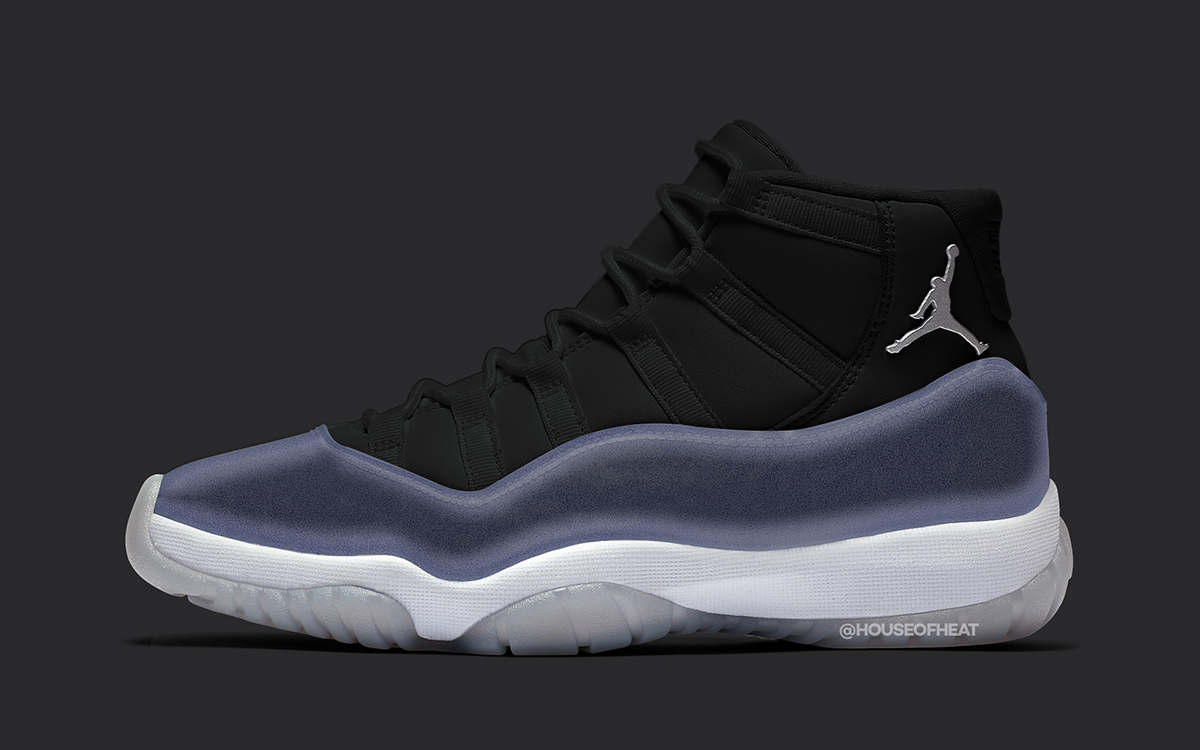 """Air Jordan 11 """"Clear"""" Tipped for Holiday 2020 Release ..."""