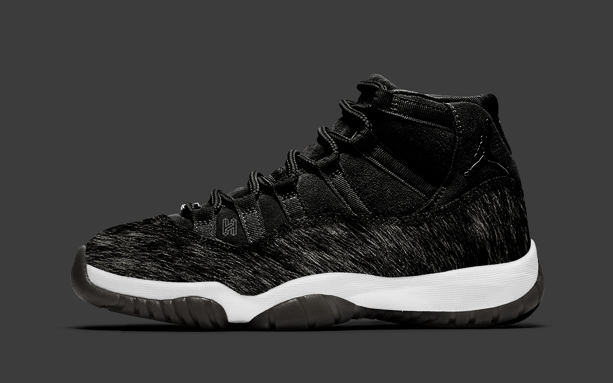 Special Edition Black And White Air Jordan 11 Arriving For