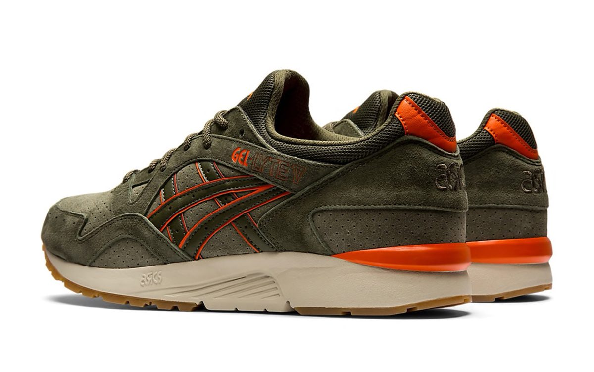 "ASICS Gel-Lyte V ""Mantle Green"" Mimics Classic Undefeated Colors"