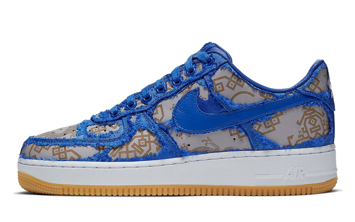 CLOT x Fragment x Nike Air Force 1 Royal Cheap Sale