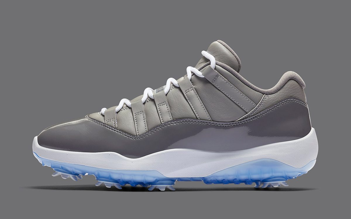 "The Jordan 11 Golf ""Cool Grey"" Tees Off on Nov. 23rd"