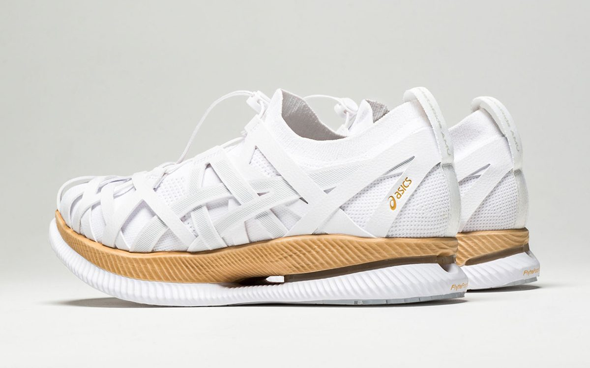 Architect ​​Kengo Kuma and ASICS Unveil Yatara Bamboo-Inspired Metaride AMU