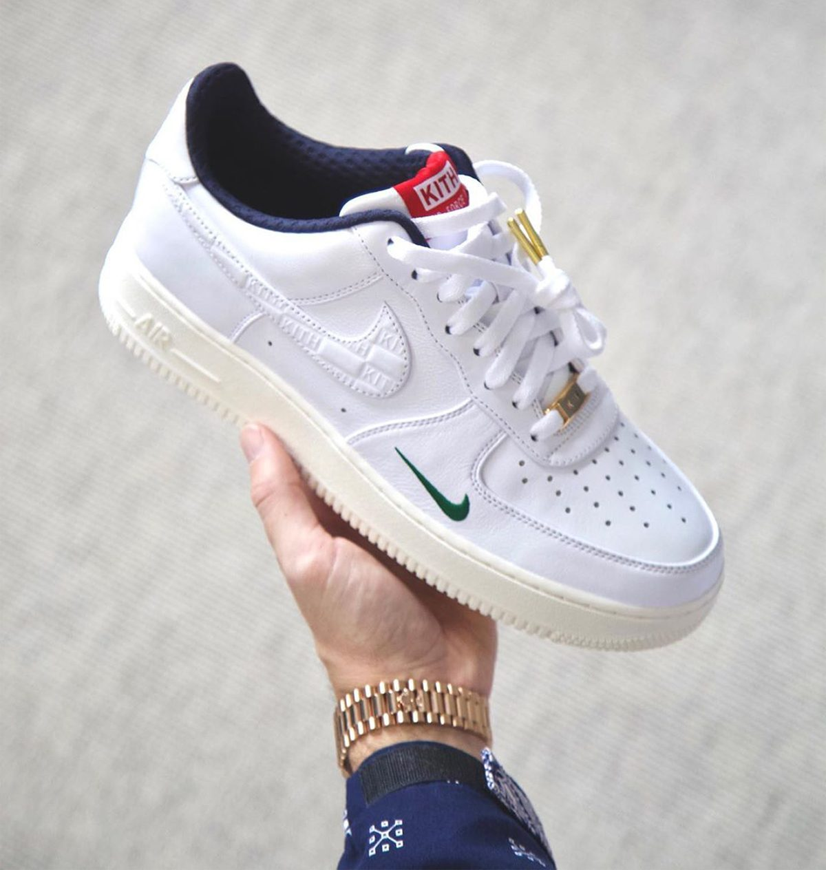 Another Look at the KITH x Nike Air Force 1 Low Collaboration