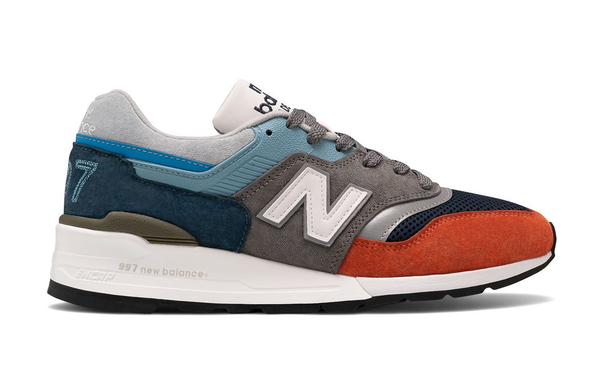 Available Now // Oversized Branding Hits this Made in USA New Balance 997