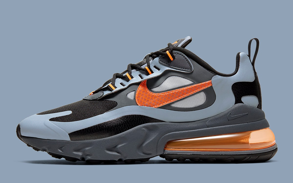 air max 270 react winter orange