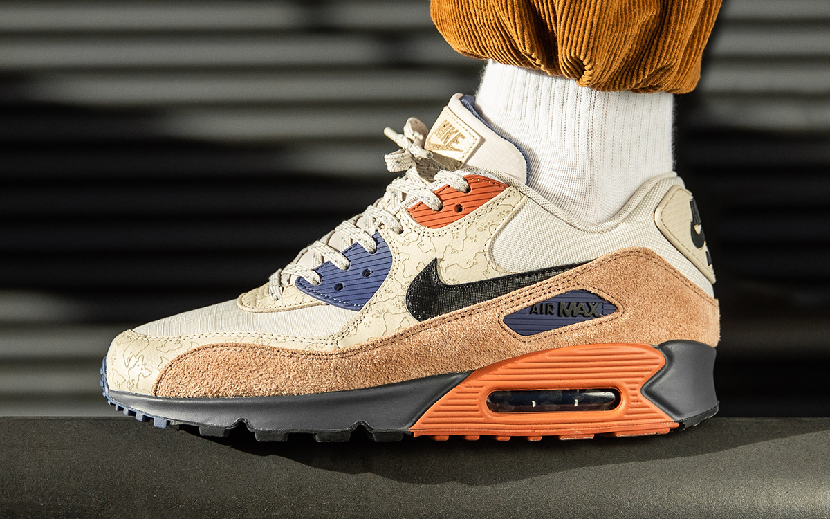 """Where to Buy the Nike Air Max 90 NRG """"Camowabb"""" 