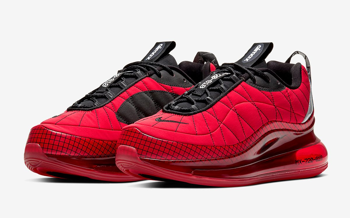 Available Now Nike S New Air Mx 720 818 To Arrive In Both Red