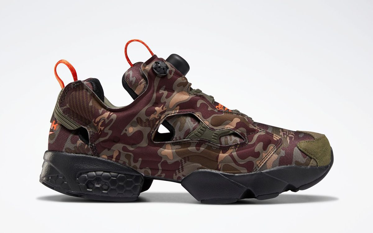 "Available Now // Reebok Instapump Fury ""Camo"""