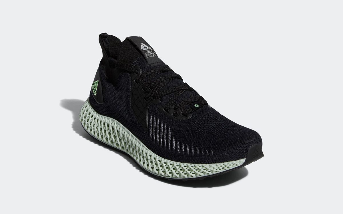 "adidas Add a ""Death Star"" Alphaedge 4D to Their Amplifying Star Wars Roster"
