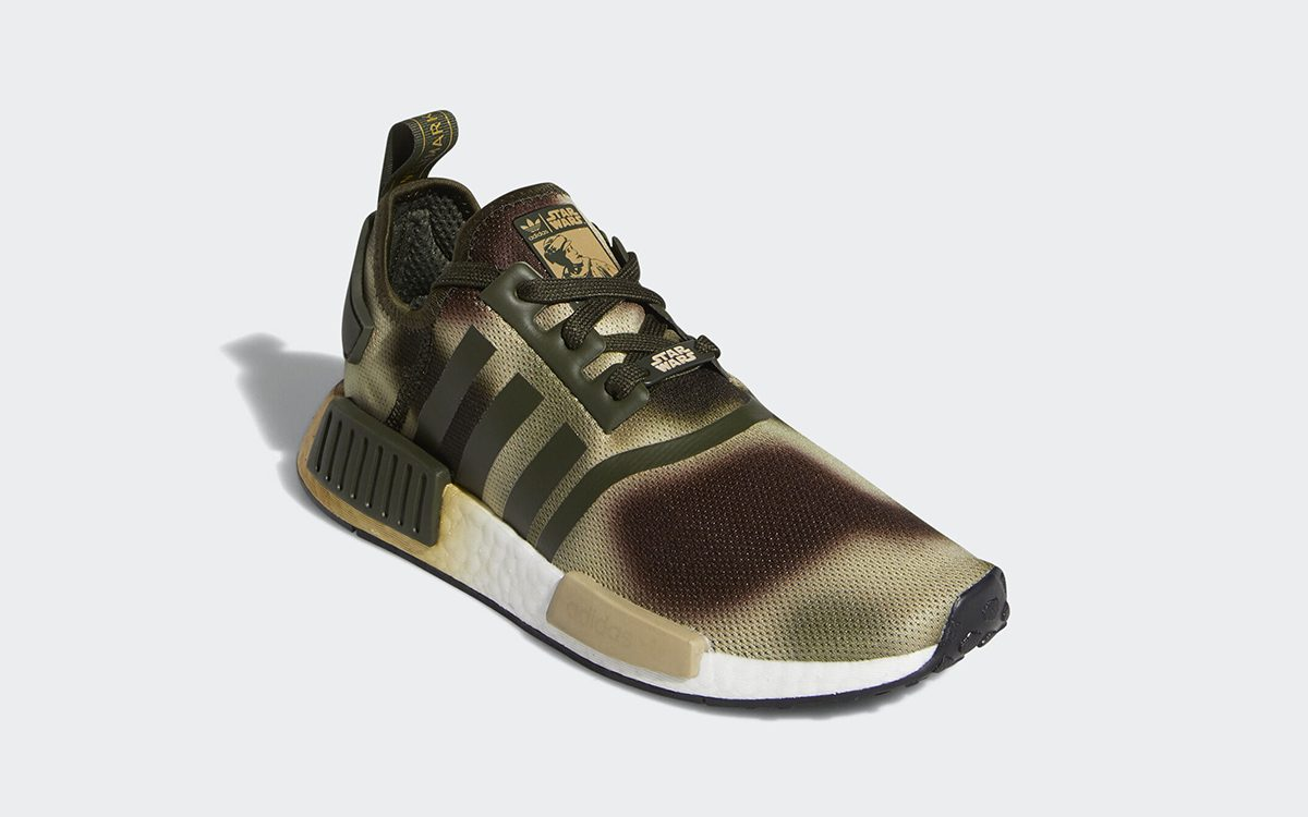Princess Leia's Camo-Covered Star Wars NMD Arrives Inspired by The Battle of Endor