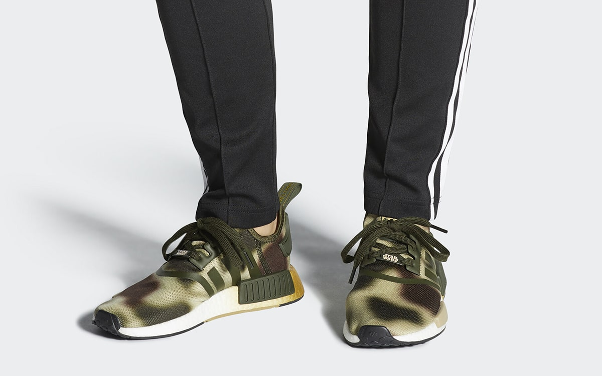 Princess Leia's Camo Covered Star Wars NMD Arrives Inspired