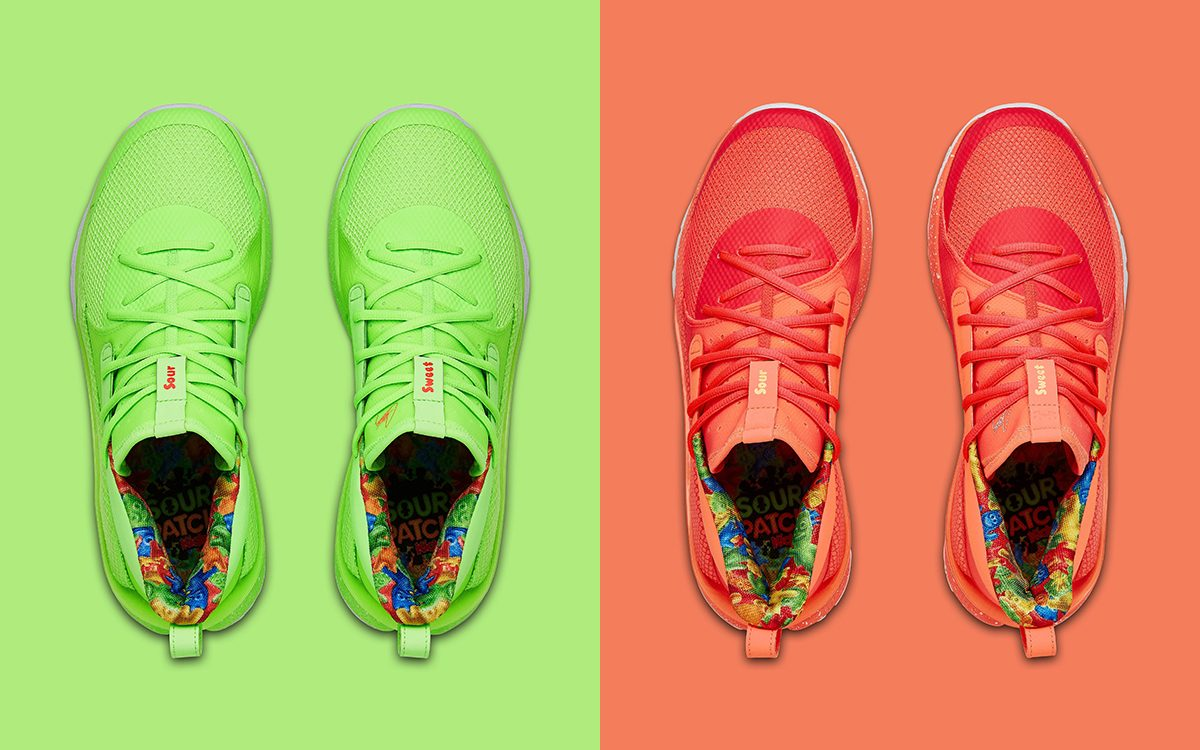 """Under Armour Officially Unveil the Curry 7 """"Sour Patch Kids"""" Series"""